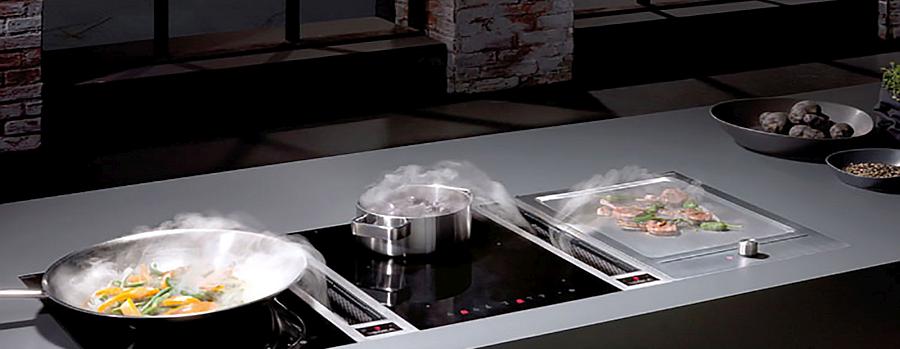 Beépíthető japán grill